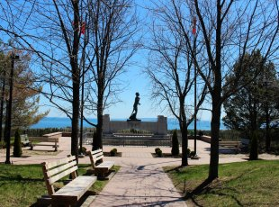 Terry Fox Monument & Tourist Information Centre