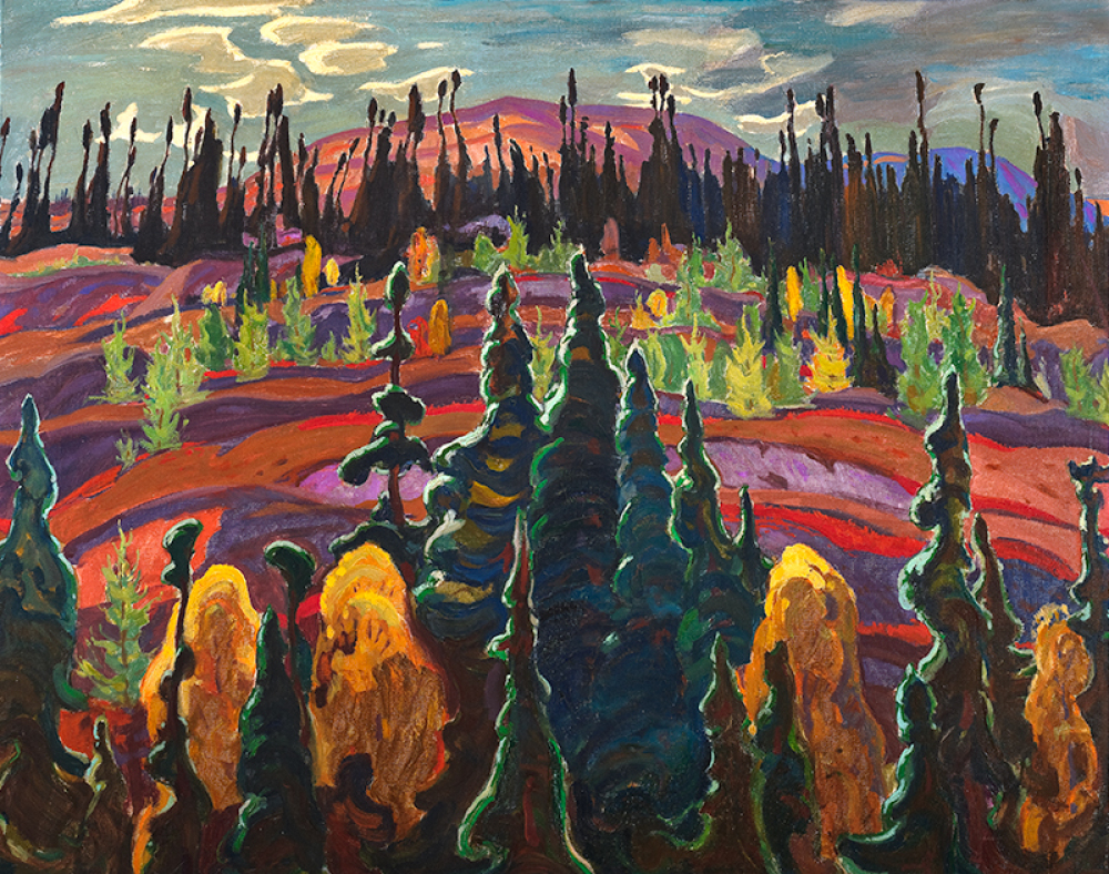 McMichael Group of Seven Painting