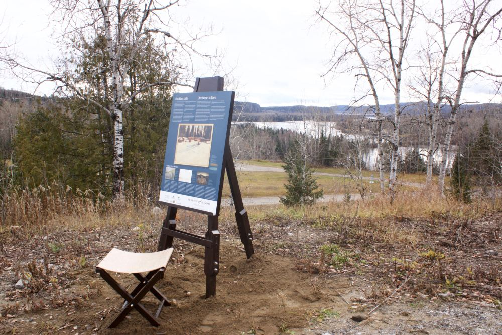 Nipigon interpretive panel