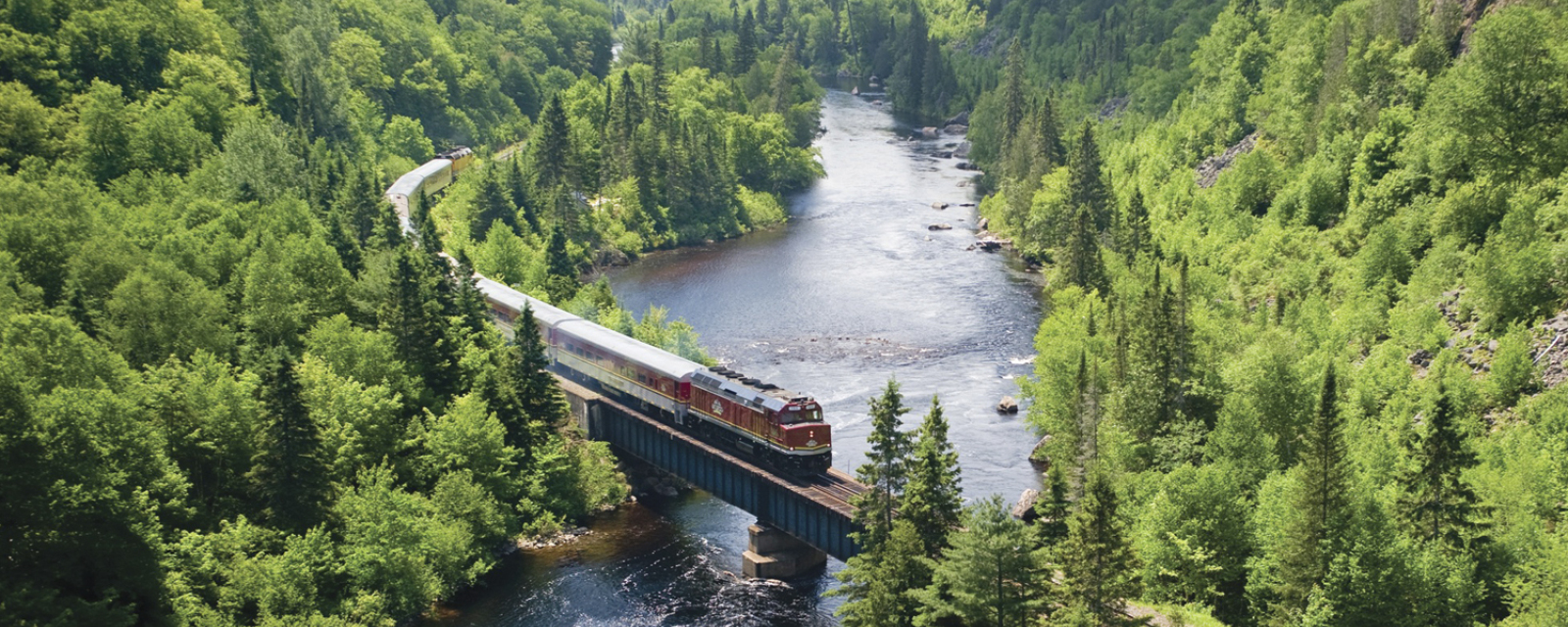 Agawa Canyon via Canyon Tour Train