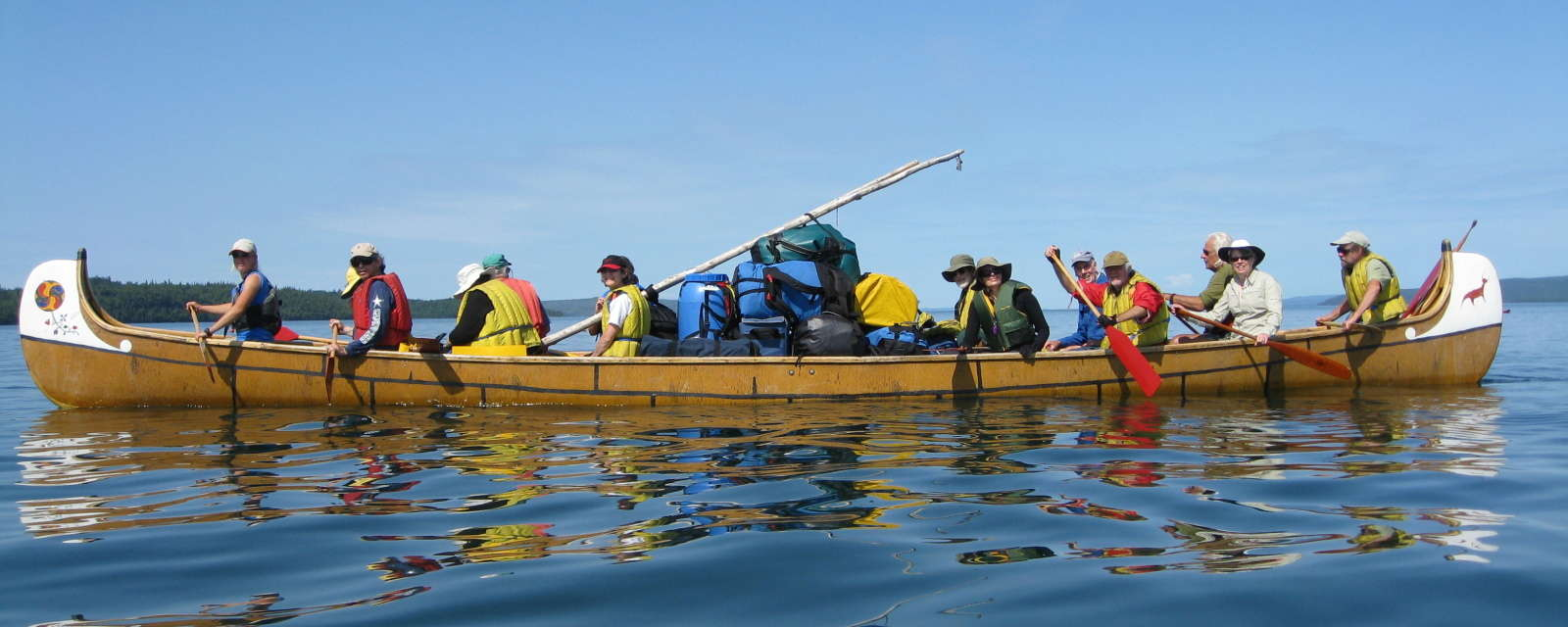 Voyageur Canoe Trip - Group of Seven Landscapes